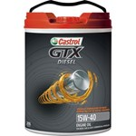 Castrol Engine Oil GTX Diesel 15W-40 - 20L