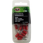 SCA Crimp Terminal - 4.3mm Red Spade - 21 pack