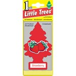 Little Trees - Card - Strawberry