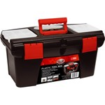 SCA Plastic Tool Box - Red/Black