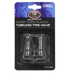 SCA Tubeless Short Stem Tyre Valve - 2 Piece