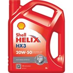 Shell Helix HX3 Engine Oil - 20W-50 - 5L