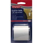 Clingtape Cloth Tape - White, 48mm X 4.5m
