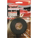 SCA Double Sided Automotive Tape Black - 12mm