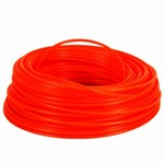 TRIMMER LINE ORANGE 2.4MMX43M TUFF CUT