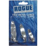 Rogue Trio Metal Lures - 3 Pack