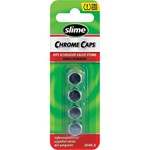 VALVE CAPS CHROME 4PK SLIME