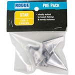 Rogue PP Star Sinker Size 2 - 3 Pack