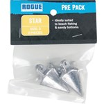 Rogue Sinker - Star Size 3 - 2 Pack
