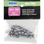 Rogue Sinker - Split Shot Size 1 - 20 Pack