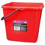 BUCKET HEAVY DUTY SQUARE SCA 12L