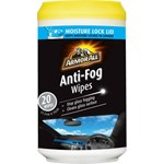 Armor All Anti-Fog Wipes - 20 Pack