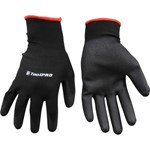 ToolPRO Polyurethane Dipped Gloves - One Size, Black