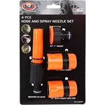 SCA Garden Hose Fitting - 4 Piece