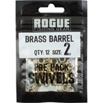 Rogue Brass Barrel Swivel - Size 2 - 12 Pack