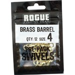 Rogue Brass Barrel Swivel - Size 4 - 12 Pack