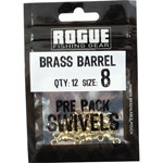 Rogue Brass Barrel Swivel - Size 8 - 12 Pack