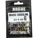 Rogue Black Crossline Swivel - Size 6 - 10 Pack