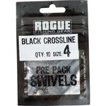 Rogue Black Crossline Swivel - Size 4 - 10 Pack