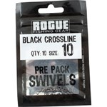 Rogue Black Crossline Swivel - Size 10 - 10 Pack
