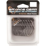 Savage Black Nickel Circle Hooks - Size 9/0 - 6 Pack