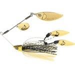 Savage TI-Flex Spinner Bait Lure - 17.5g - Black and Gold