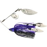 Savage TI-Flex Spinner Bait Lure - 17.5g - Black and Purple