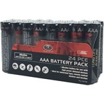 SCA Batteries - Heavy Duty Alkaline - AAA - 24 Pack