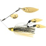 Savage TI-Flex Spinner Bait Lure - 9g - Black and Gold