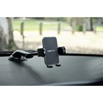 Cabin Crew Universal Phone Holder - Suction Mount with Long Arm - Black