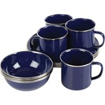 Wanderer 12 Piece Enamel Dinner Set