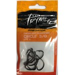 Pryml Predator Hooks Circle Black 3/0 8 Pack