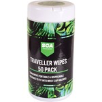 SCA Traveller Wipes - 50 Pack