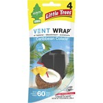 Little Trees Vent Wrap Air Freshener - Caribbean Colada